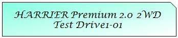 01 Mark TOYOTA HARRIER PREMIUM 2WD TD1-01.JPG