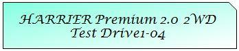 01 Mark TOYOTA HARRIER PREMIUM 2WD TD1-04.JPG