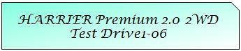 01 Mark TOYOTA HARRIER PREMIUM 2WD TD1-06.JPG