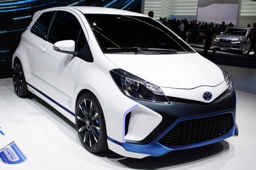 Toyota Hybrid System-Racing THS-R Yaris front right view 500.jpg