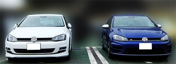 VW Golf7 R 07 and TSI High line front 600.jpg